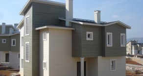 Çelik Konstrüksiyon Amerikan Evleri